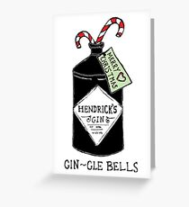 GIN-gle bells Greeting Card