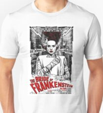 Bride of Frankenstein. Elsa Lanchester. Movie. Horror.  T-Shirt