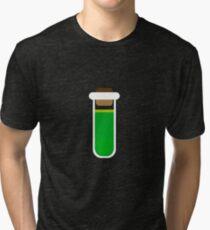 Color tubes Green Tri-blend T-Shirt