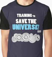 The Doctor - Training to Save the Universe! Graphic T-Shirt