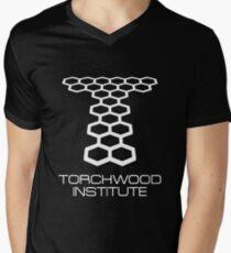 Torchwood Institute Men's V-Neck T-Shirt