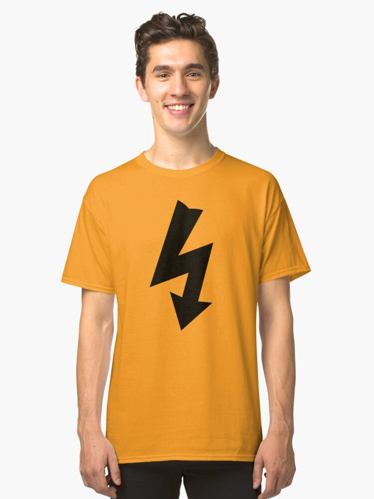 Electrical Warning Symbol Classic T Shirt By Sweetsixty Redbubble