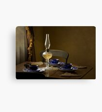 Table Setting Canvas Print