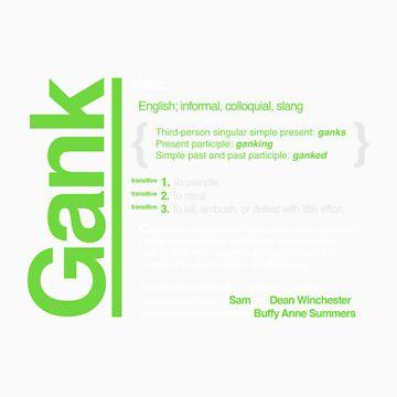 Gank - A Definition by irrational-gaz