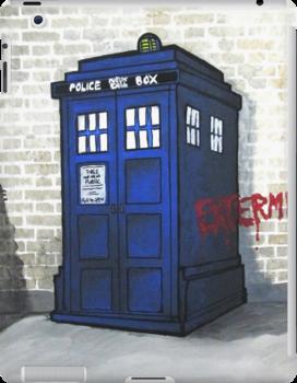 Dalek Getting Up by azummo
