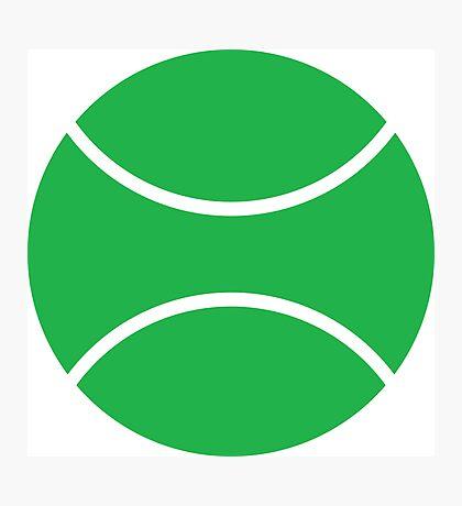 tennis ball Photographic Print