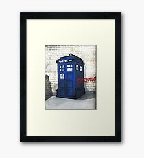 Dalek Gettin' Up Framed Print