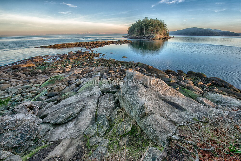 Low Tide near Georgeson Island by toby snelgrove  IPA