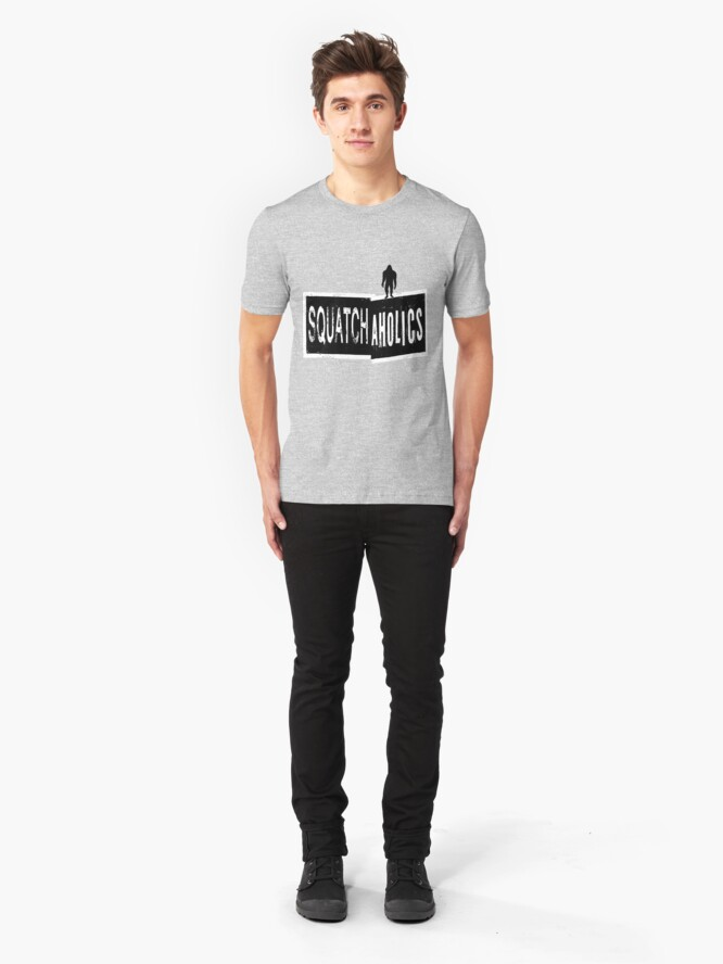 Alternate view of Squatchaholics Slim Fit T-Shirt
