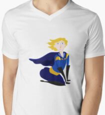 Prince Butt! Mens V-Neck T-Shirt