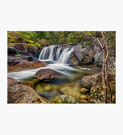A Mountain Flow Photographic Print