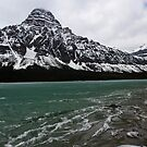 Waterfowl Lake, Banff National Park, Canada, 2013 by Graham Schofield