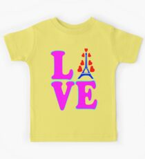 •°♥§Love Paris-Eiffel Tower Fabulous Clothing & Stickers§♥°• Kids Tee