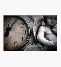 Dark Angel of Time Photographic Print