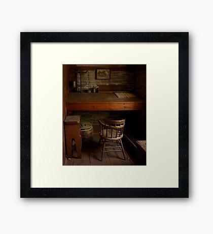 Roblin's Mill Office Framed Print