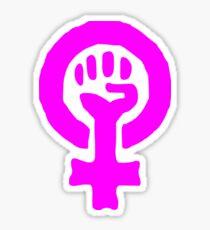Feminism Symbol Sticker