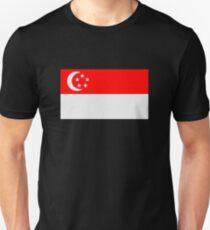 Flag of Singapore Unisex T-Shirt