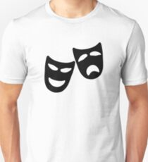 Tragedy and Comedy Masks Unisex T-Shirt