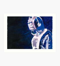 Excellent Leader - Cyberman Painting Art Print