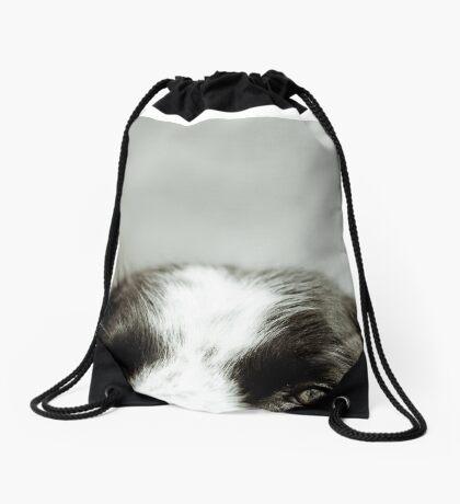 Can you see me? Drawstring Bag