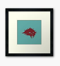 Island of the dead Framed Print