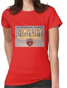 Simplify! Womens Fitted T-Shirt