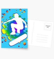 skatboard bubbles Postcards