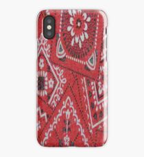 Red Bandana - iPhone Case iPhone Case