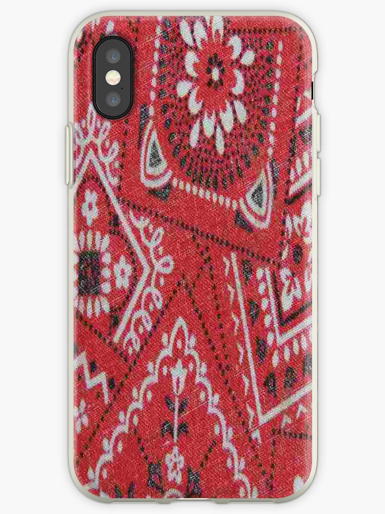low priced 89f1f e5f61 'Red Bandana - iPhone Case' iPhone Case by Betty Town Duncan