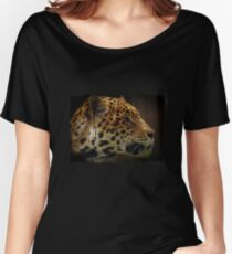 Jaguar, Wild Cat, Animal-Lover, Cat-lover Gifts Women's Relaxed Fit T-Shirt