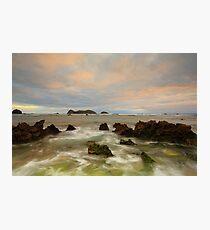 Neds Beach Rocks Photographic Print