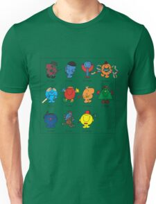 Mr Men Who T-Shirt