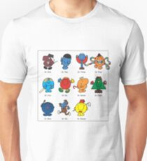 Mr Men Who Unisex T-Shirt
