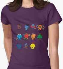 Mr Men Who Women's Fitted T-Shirt