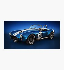Shelby Cobra 427 - Bolt Photographic Print