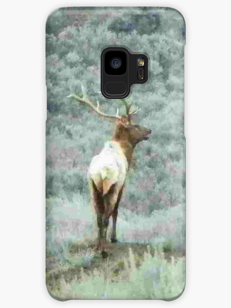 Lone Elk - iPhone Case by Betty  Town Duncan