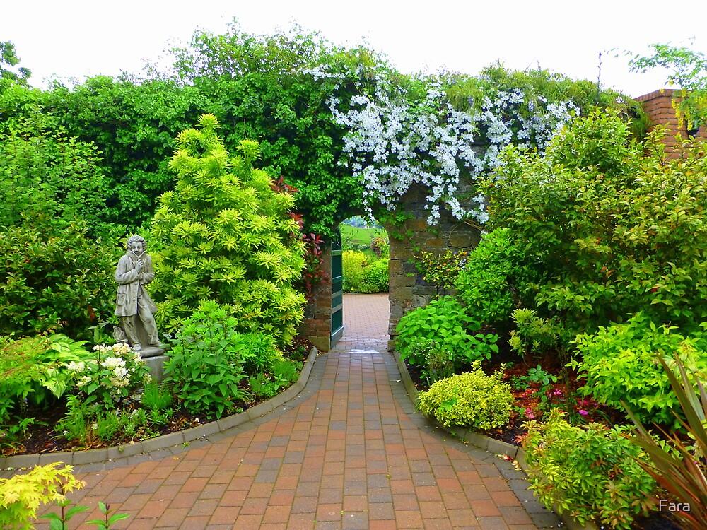 Corick House Gardens by Fara