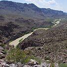 Rio Grande River - US-Mexico Border - Rio Grande - Lajitas - West Texas by seymourpics