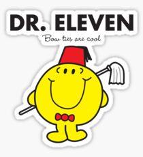 Dr. Eleven Sticker