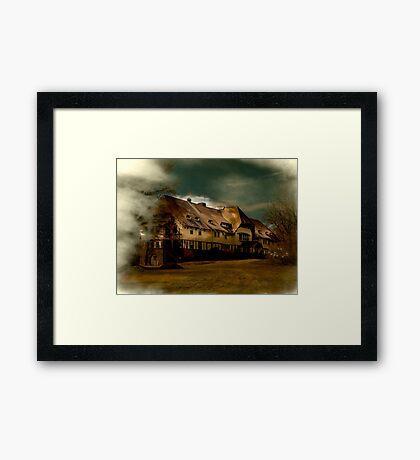 Loomis Sanitarium Liberty NY Framed Print