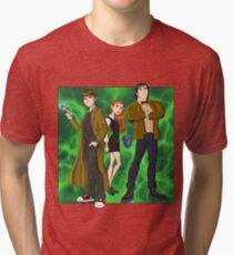 Ben 10 Who? Tri-blend T-Shirt