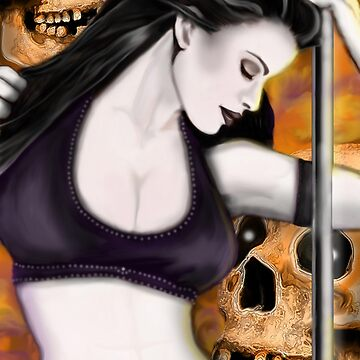 Lady and the Skulls by LetyLeru
