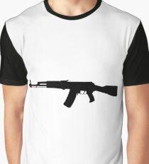 AK-47 assault rifle Kalashnikov Graphic T-Shirt