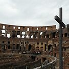 the Colosseum of Rome by Jim Sugrue