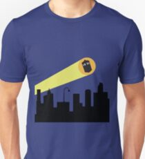 Bat Signal: Who Unisex T-Shirt