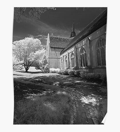 Bows Town Church Poster