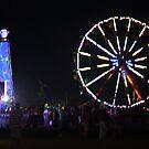 Bonnaroo Ferris Wheel by Cathy Cale