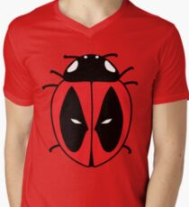 Bug with a mouth Men's V-Neck T-Shirt