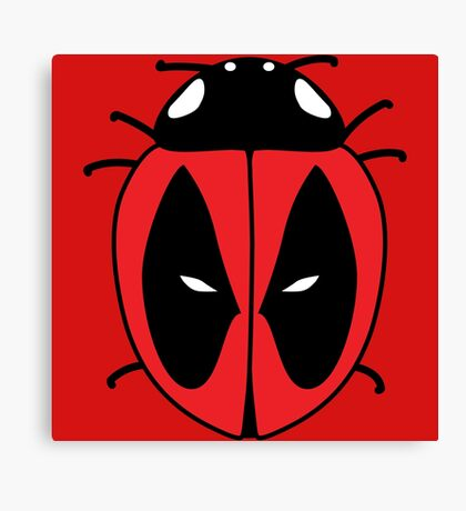 Bug with a mouth Canvas Print