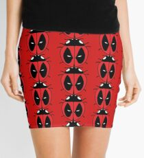 Bug with a mouth Mini Skirt
